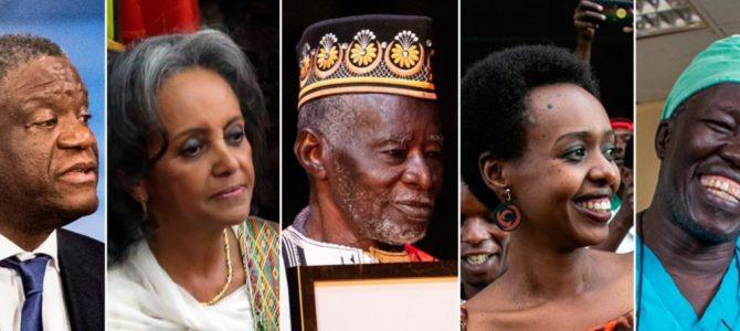 Cinq personnalités africaines qui ont marqué 2018